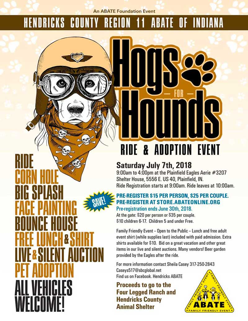 Hogs for Hounds - Single Registration