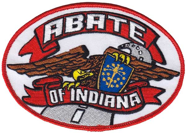 ABATE Retired Oval Logo Patch