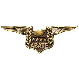ABATE Logo Pin (Gold)