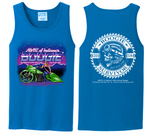 Boogie 2018 SAPPHIRE Mens Tank LARGE
