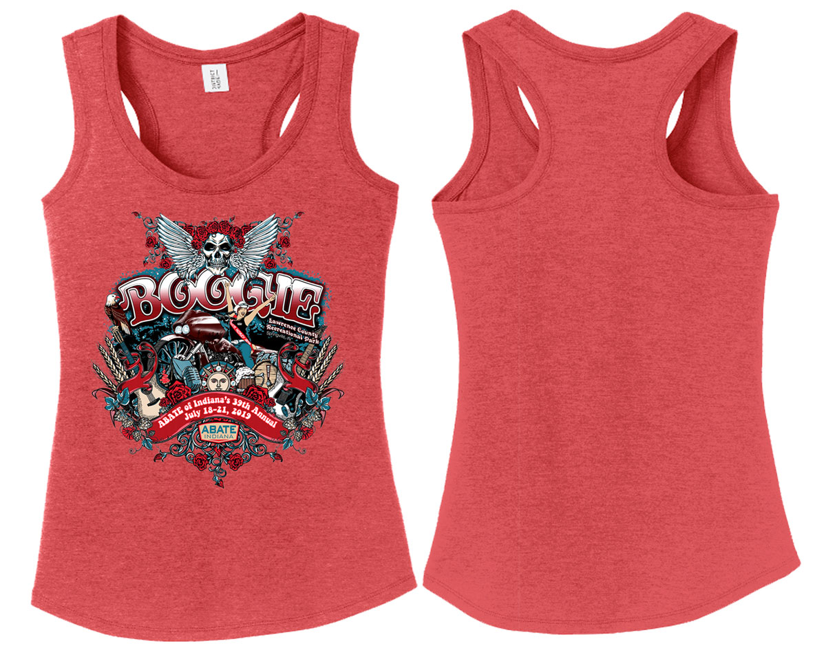 2019 Boogie Women's Tank Top Adult Medium